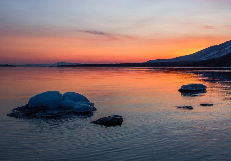 Малое море...засыпаетphoto preview