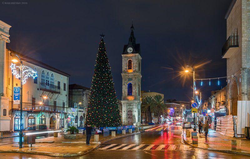 Рождественский дождь в Яффо.photo preview
