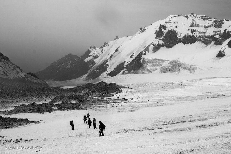 Georgia, Kazbegi A trip to the ice desertphoto preview