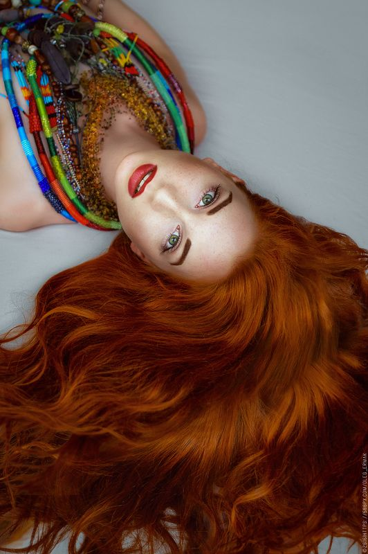 ukraine, red, portrait, girl, beauty, kiev, people, kyiv, golden, cute, nude, hair, sexy, redhead, naked, passion, gorgeous, ginger, retouch, temptation, luxurious, accessories, red, fox, oleg ermak, gire, Necklaces, olegermak, oleg_ermak, Foxphoto preview