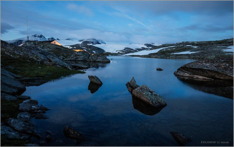 Ночная Норвегияphoto preview