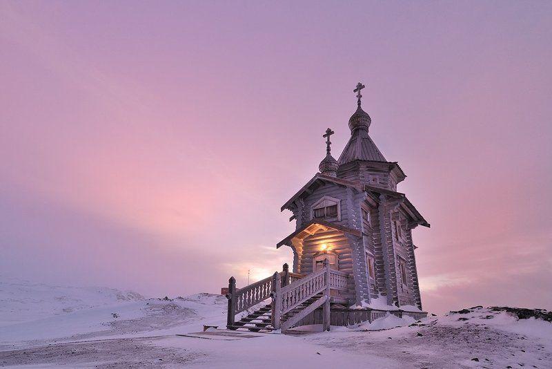 храм святой троицы, антарктика, ст.беллинсгаузен. ***photo preview
