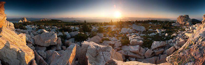 faniz, зюраткуль, хребет, панорама Вечер на Зюраткулеphoto preview