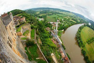 The Round World *Chateaux  Beynac*