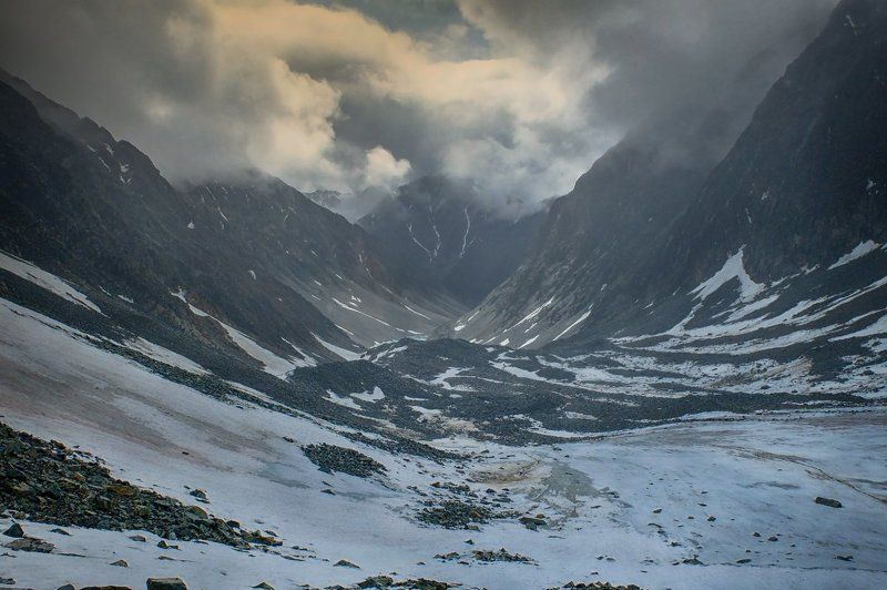 Ледник,горы,долина,снег,пейзаж,glacier,mountains,valley,snow,landscape Гипнотичная долинаphoto preview