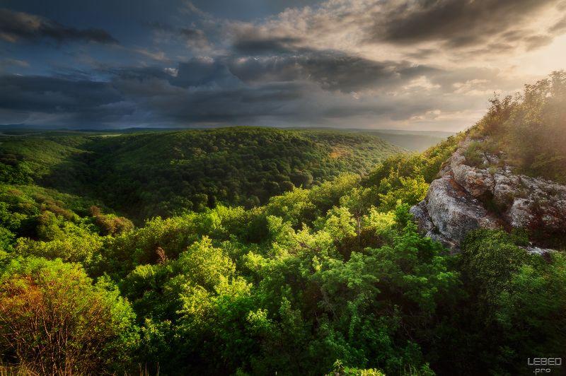 Вечерний свет весеннего Карабиphoto preview