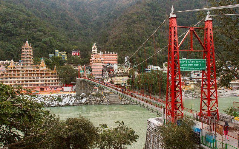 Ришикеш, Индия, Ганга Просыпающийся Ришикеш и Гангаphoto preview