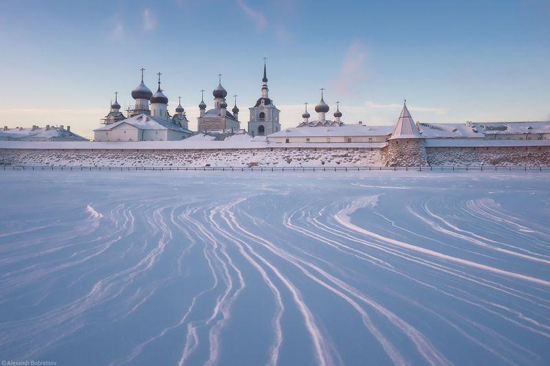 соловки, первый лед, монастырь, святое озеро ***photo preview