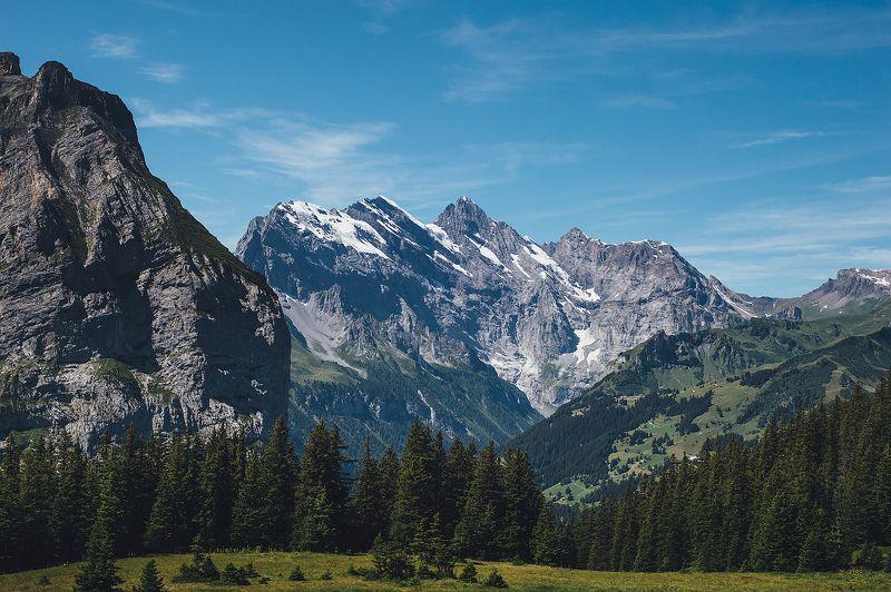Альпы, пейзаж Летние Альпыphoto preview