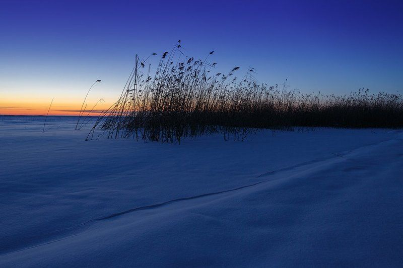 Пейзаж, утро, зима, псковщина, Жижицкое озеро Морозное утро на Жижицком озереphoto preview