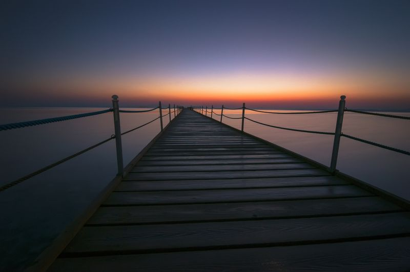 Мост в рассветphoto preview
