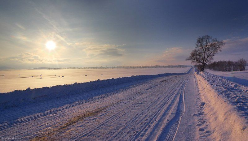 Алтай, Зима Зима в предгорьях Алтаяphoto preview