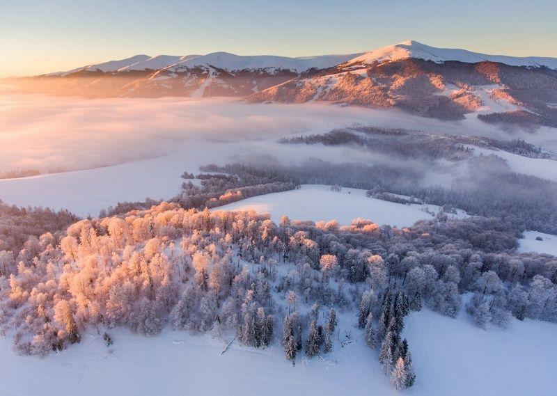 Зимняя сказка Карпатphoto preview