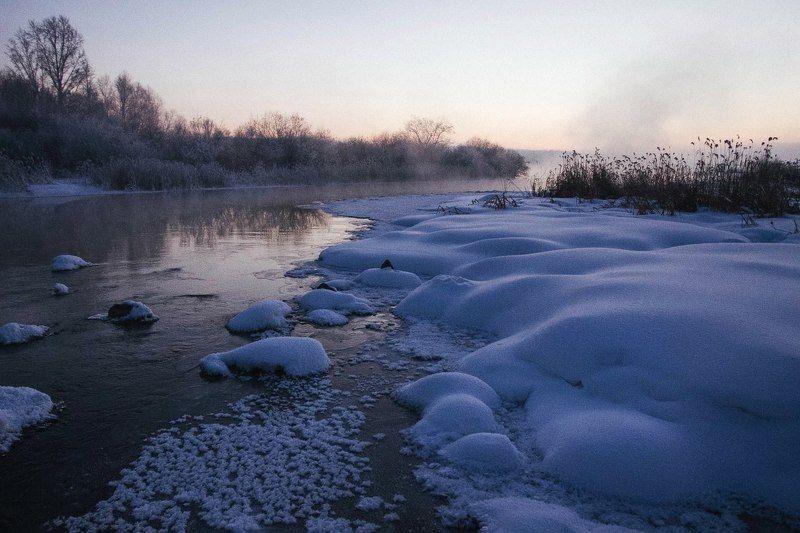 Зимняя запрудаphoto preview