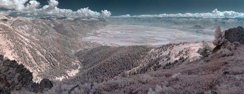 ИК Горный Алтай Уймонская долина. ИК-съёмкаphoto preview