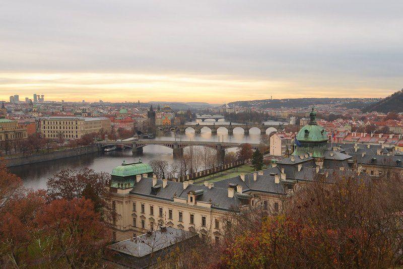 Прага, Влтава, Карлов мост photo preview