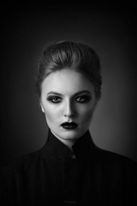 портрет,девушка,черно-белое, Океанphoto preview