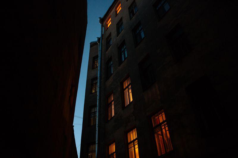 архитектура, ночь Сказки на ночьphoto preview