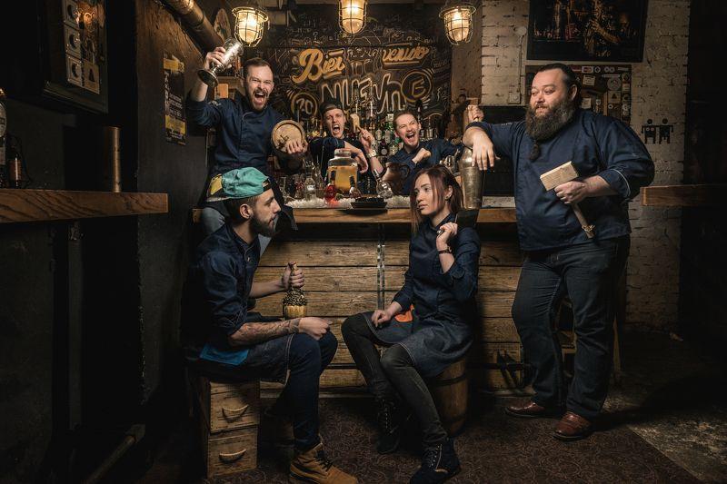 бар, бармен, алкоголь, вечер, коктейль Vorobey barphoto preview