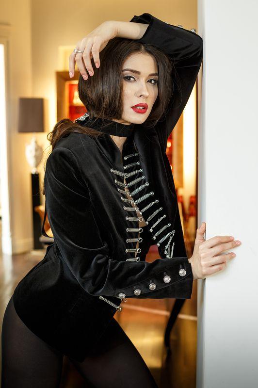 fashion girl model  jaketphoto preview