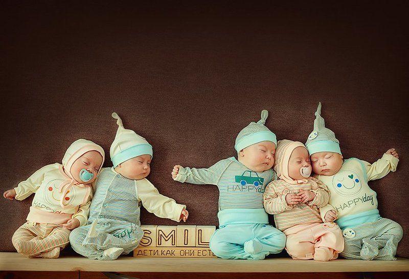дети, брат, сестра, семья, счастье пятерняphoto preview