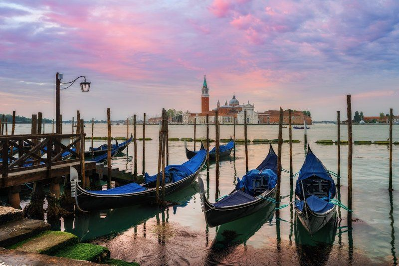 венеция, италия, утро, venice, italy, morning, dawn Майское утро.photo preview