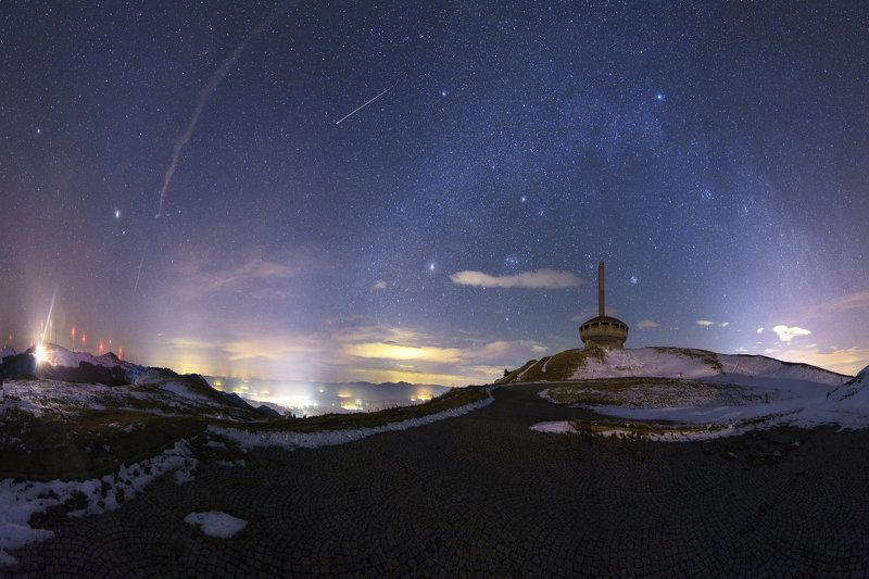 Bulgaria , Landscape , night , milkyway , incredible , stars , milky , peak , buzludzha , amazing , beautiful , sky , stars , Nikon , tokina  where the earth meets skyphoto preview