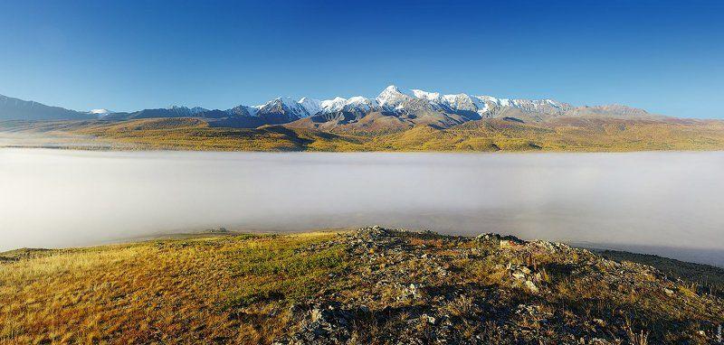 Алтай, Курайская степь, Ештыкель PRO туманные реки Ештыкельphoto preview