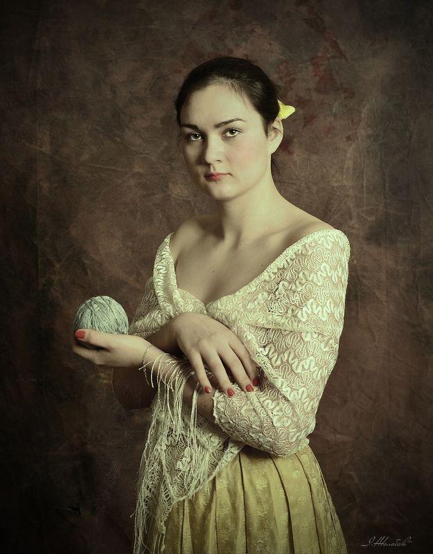 Портрет дівчиниphoto preview