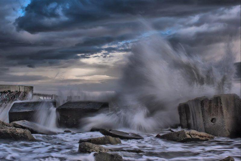 шторм, море Море волнуется раз, море волнуется два...photo preview