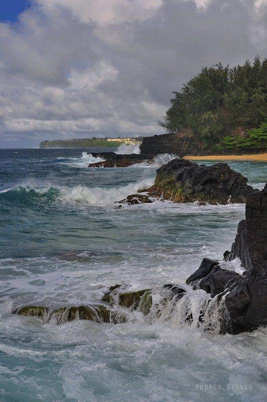 станко, пейзаж, море, камни, прибой Прибойphoto preview