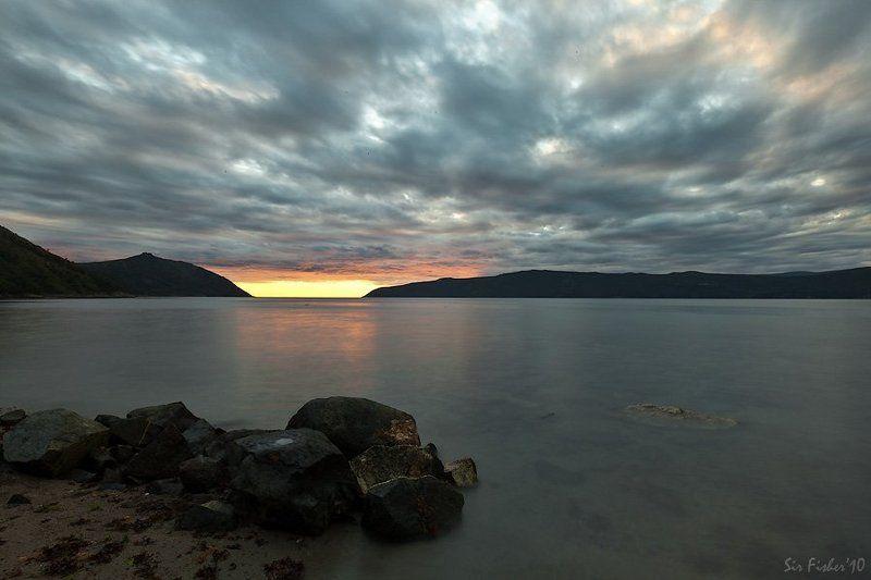 ...вечер с длиной водойphoto preview