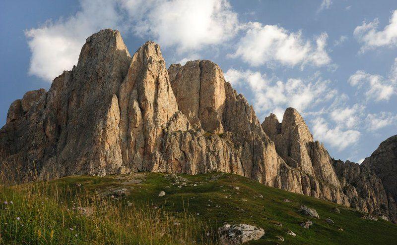 горы ,пейзаж,природа Большой Тхач , августphoto preview