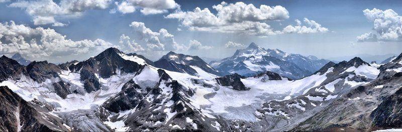 горы, дождь, кавказский, хребет Дождь в горахphoto preview