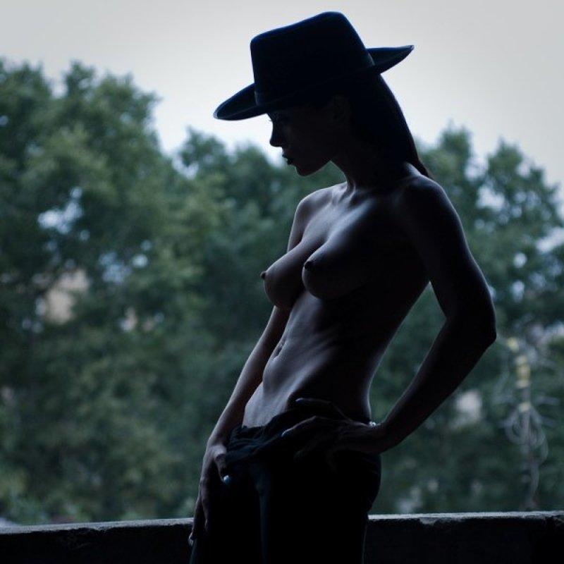 силуэт, девушка, а-ля Чикагоphoto preview