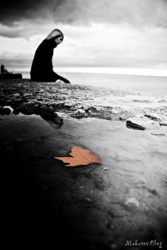 осень, портрет, осеннее настроениеphoto preview