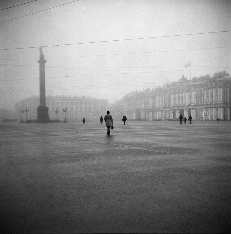 санкт-петербург, туман Из ниоткуда в никуда..photo preview