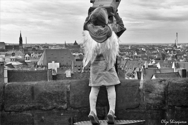 германия, девочка, крылья Время летать-2photo preview