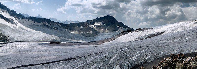 горы, эльбрус, ледники Ледяная чашаphoto preview
