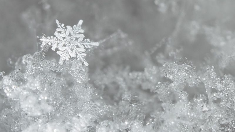 Снежинкаphoto preview