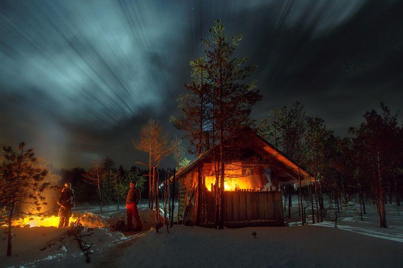 Сияние в безлунную ночьphoto preview