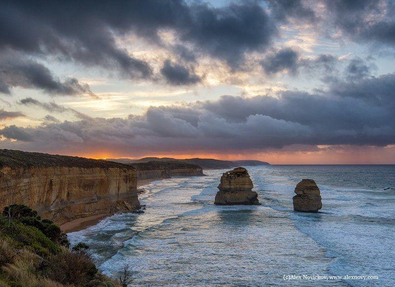australia, sunrise, seascape Гог и Магогphoto preview
