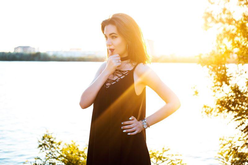 beauty, girl, model, light, portrait, beautiful Викаphoto preview