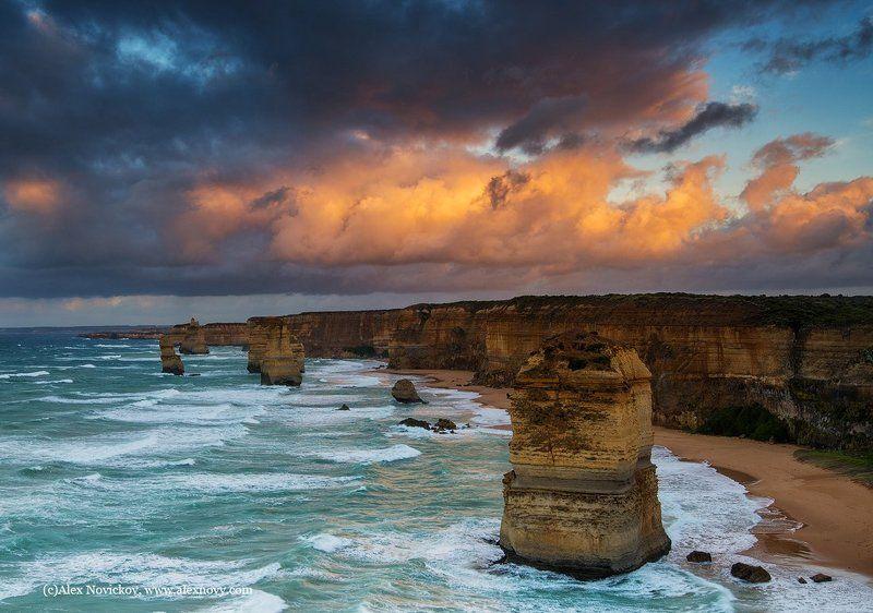 australia, seascape, sunrise Апостолыphoto preview