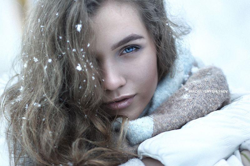 девушка, портрет, смышляев, дневной свет, girl, dayligh, smyshlyaev, зима, россия,челябинск Настяphoto preview