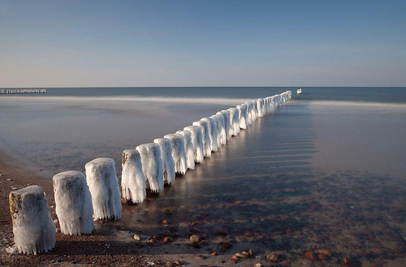 baltic, breakwaters, winter, breakwatersphoto preview