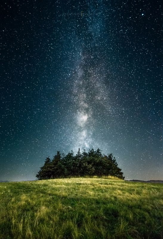 astrophotography, astronomy, galaxy, milky way, nightscape, night, sky, stars, long exposure, nature, bulgaria, space, panorama Revelationphoto preview