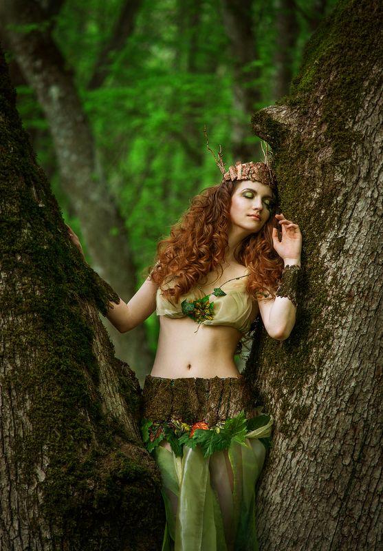 лес, дриада, постановка, сказка dryadphoto preview