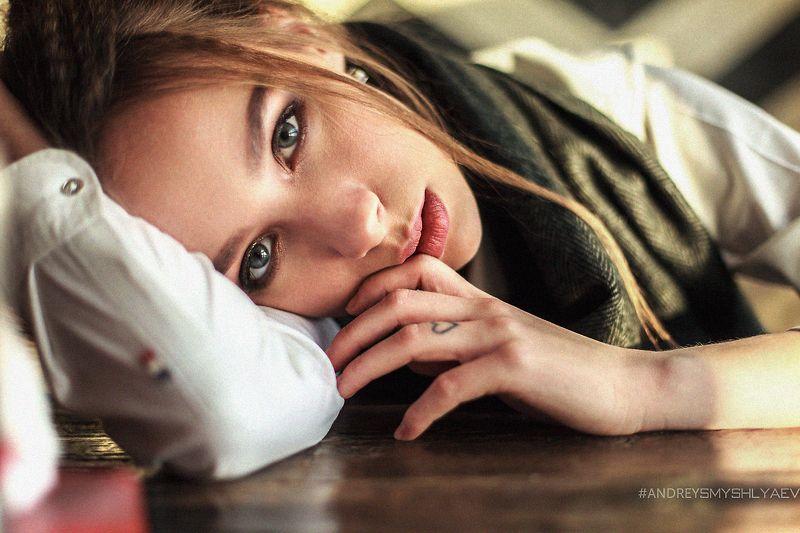 девушка, портрет, смышляев, дневной свет, girl, dayligh, smyshlyaev, зима, россия, челябинск Полинаphoto preview