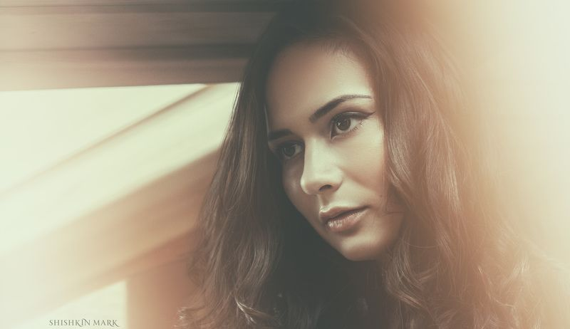 портрет, красота, девушка, глаза Марияphoto preview